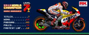 Marc Marquez is the 2018 MotoGP World Champion. #Level7 completed